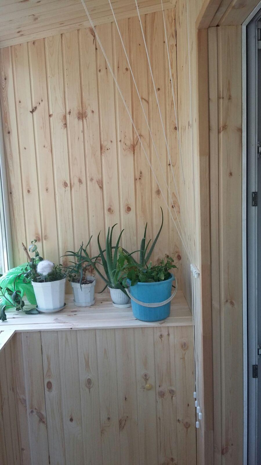 Остекление и обшивка балконов в набережных Челнах.